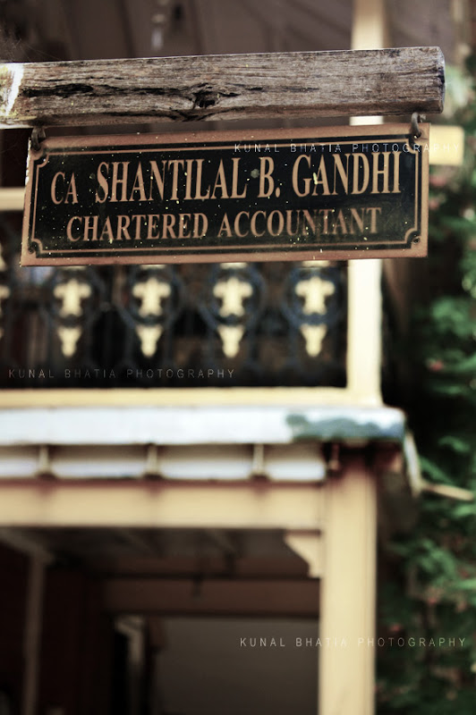 signboard of a chartered accountant in mumbai by kunal bhatia