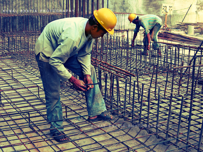 construction worker labourer on a construction site in mumbai by kunal bhatia mumbai photo blog
