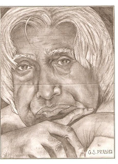 Portraits  Actor Personalities Familiar Faces leaders actress hero herione tamis cinema drawing pencil sketching artwork abdul kalam amitab bachan sonali bindre art