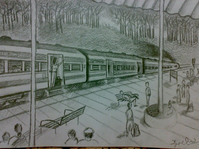 railway station essay A railway station is a halting place for the trains at present, railway station are quite common in india there are a number of railway stations by the sides of the railways but all the stations are not of equal size some are very small and some are very big some are of mediocre type the big.