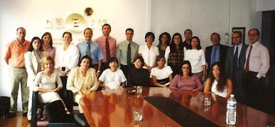 Foto con los compañeros de CEBEK