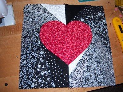Square in Square Quilt Block (Paper Piecing Tutorial