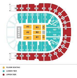 02 arena seating plan jingle bell ball for 02 arena floor seating plan