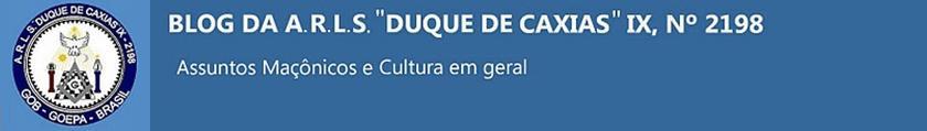 """2198 BLOG DA LOJA MAÇÔNICA""""DUQUE DE CAXIAS"""" IX"""