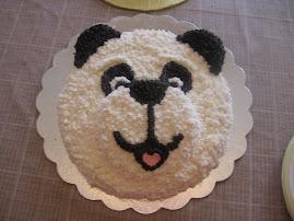 Audrie's birthday cake