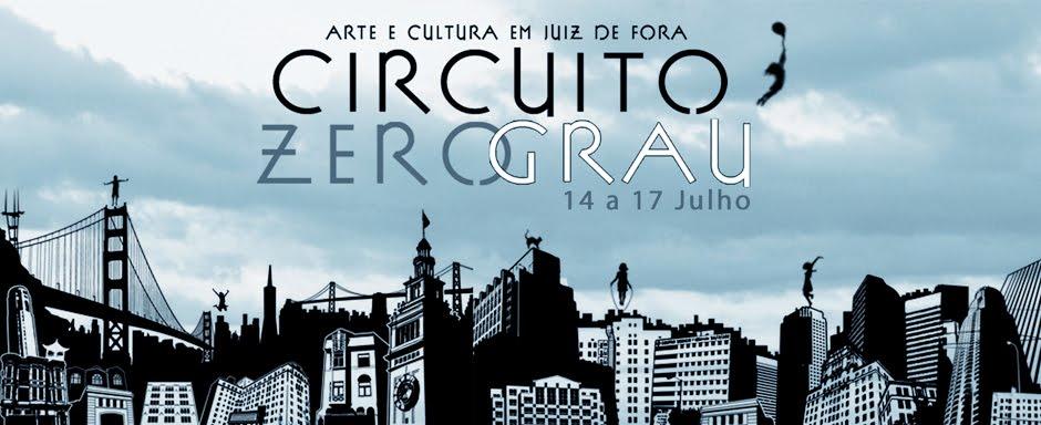 circuito Zero Grau, Arte e Cultura em Juiz de Fora