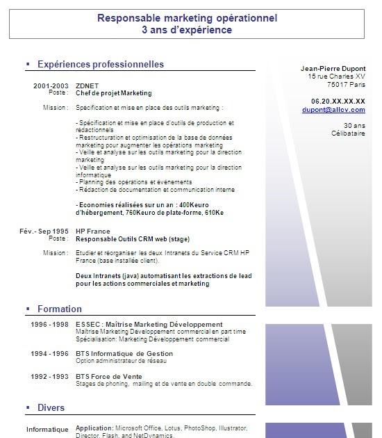 modele curriculum vitae lettre de motivation gratuit  t u00e9l u00e9charger modele cv n21