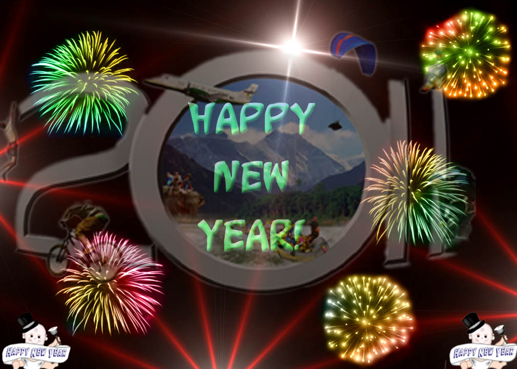 Happy New Year 2011 Wishes, SMS, Messages, Greetings, Cards .