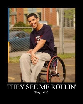 drake wheelchair Drake Sucks