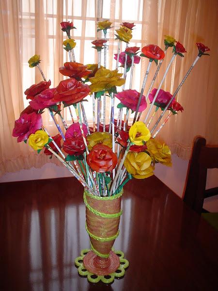 Flores de jornal
