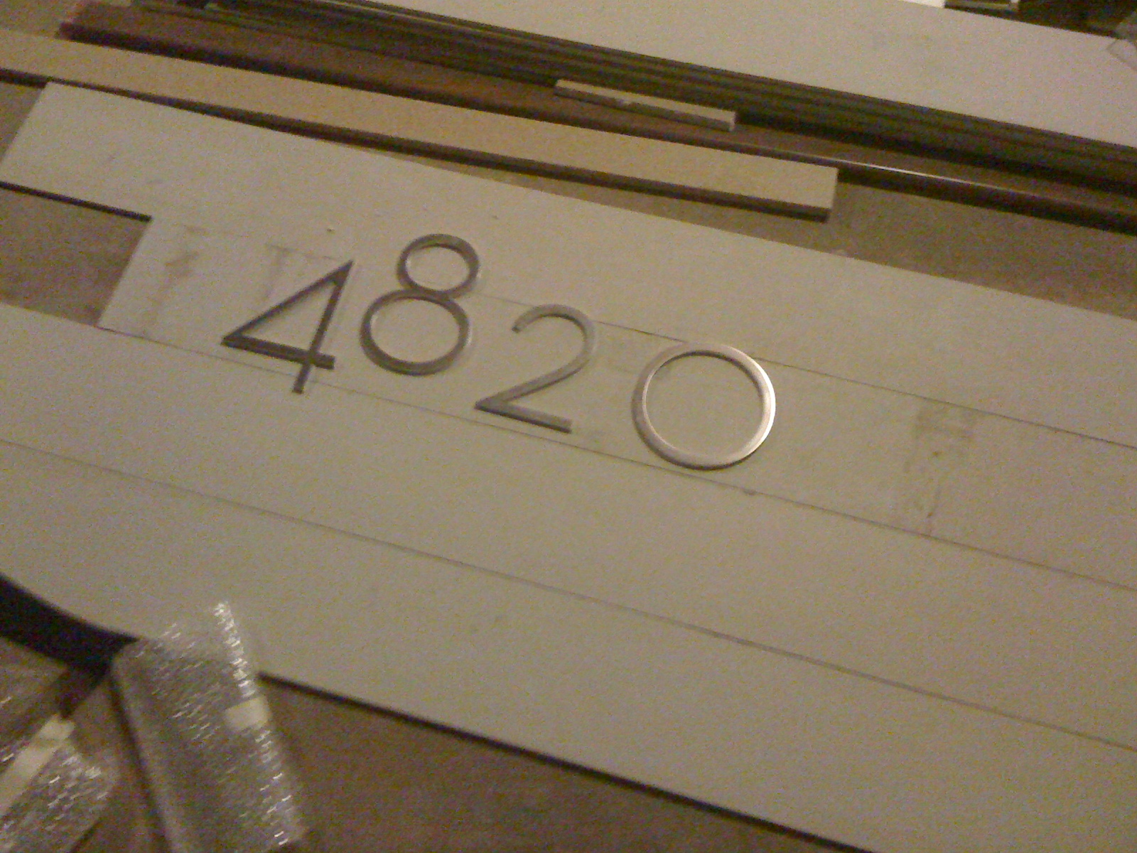 Mid Century Modern House Numbers Livemodern Your Best