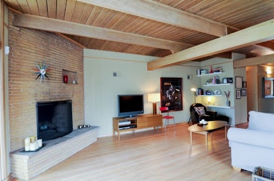 Mid Century Modern Living Room Design