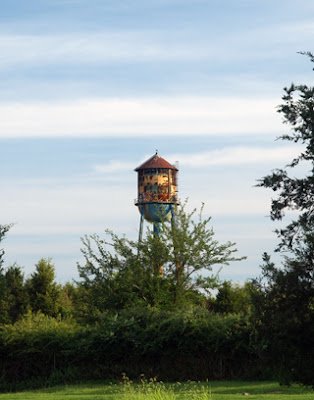 Belle Mead Depot Water Tower