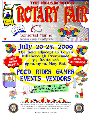 Hillsborough Rotary Fair 2009