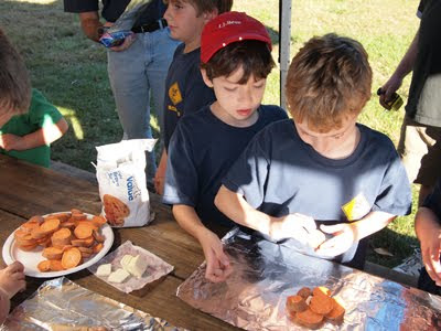 Hillsborough Cub Scout Pack 89 Fall Camping Trip, Teetertown Preserve