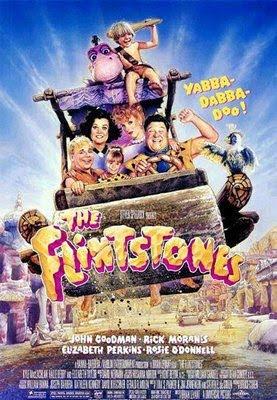 Filme Poster Os Flintstones - O Filme DVDRip RMVB Dublado