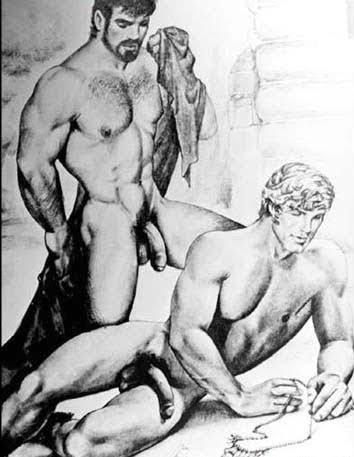 Gay Art B&W