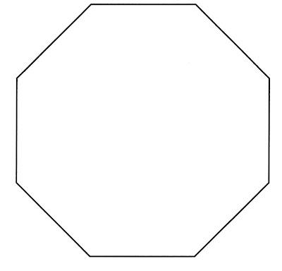3d Octagon Template