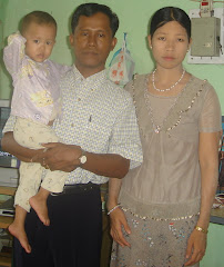 My friend Ko Zaw One and his family