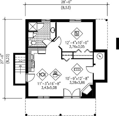 Bungalow House Plans and Bungalow Designs at BuilderHousePlans.com