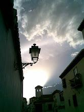 Torre-alminar de la iglesia de S. Miguel bajo. Albayzin.