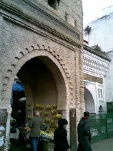 Una de las puertas de la medina de Tetuán