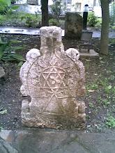 Lápida de tumba judía.Tetuán