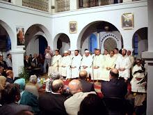 Cantores sufíes en Chauen.