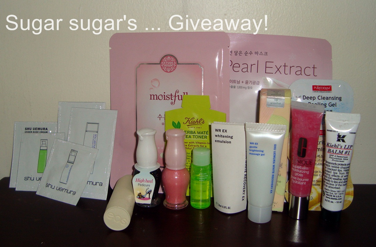 Sugar Sugar's First Giveaway!
