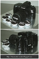 SLR Canon made from brownies