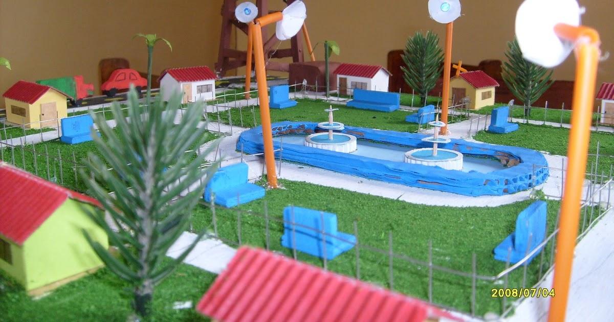 Maqueta De Ecol 243 Gica Con Paneles Solares Edukarola