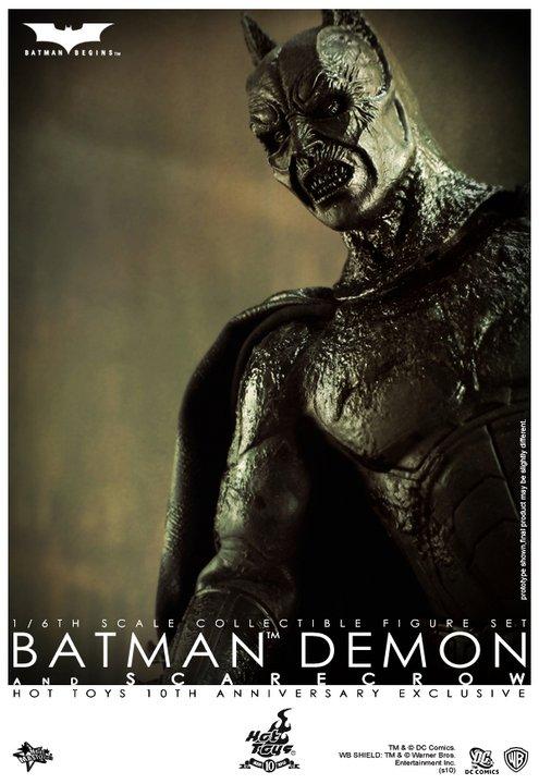 guNjap: Batman Begins: 1/6 Batman Demon & Scarecrow ...