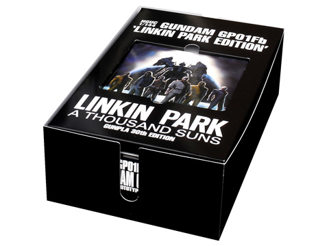 HGUC Gundam GP01 Full Burner Linkin Park Edition No.13 ...