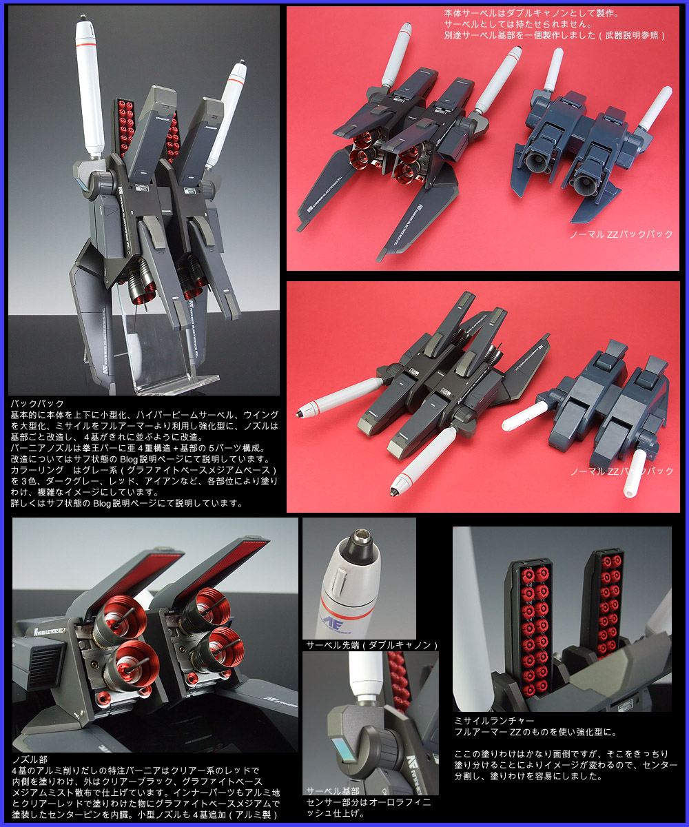 Latest News Zz Hd: MG ZZ Gundam Remodeling By Meister Keita, No.16 HD Images