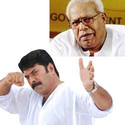 """I will not say anything""  - Mammootty"