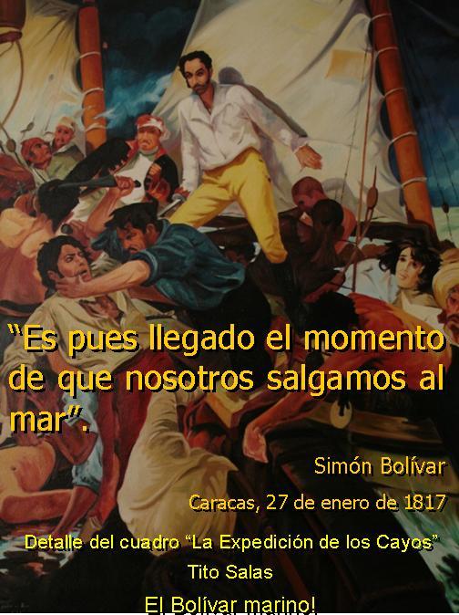 Simón Bolívar y el Mar