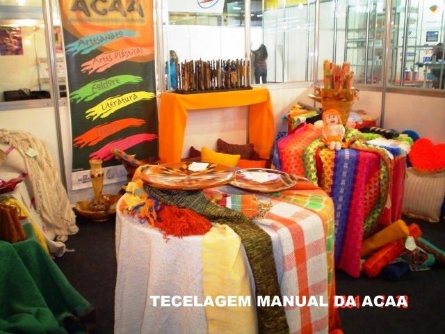 Exposição dos nossos produtos em uma Feira Cultural