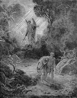 an analysis of the story of adam and eve in paradise lost by john milton Paradise lost is about adam and eve also called paradise it's the same story god sends michael to expel the pair from paradise, but first to reveal to adam.