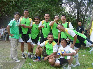 Anggota Team saat melawan Majapahit