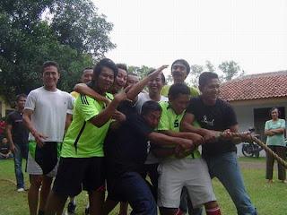 TeamTarik Tambang kalah tragis dipertandingan pertama
