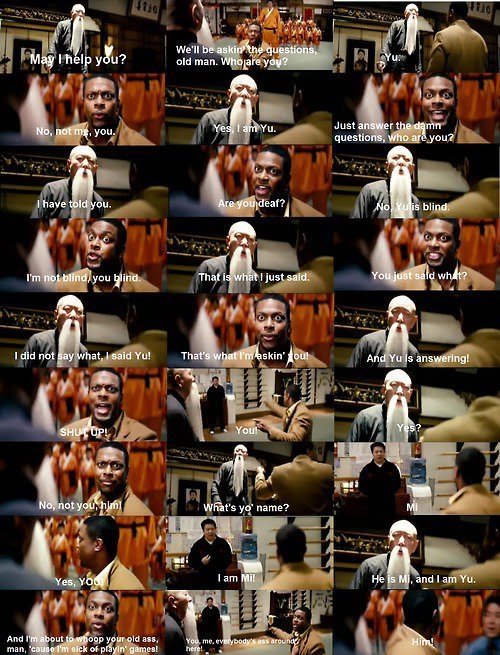 funny rush hour quotes