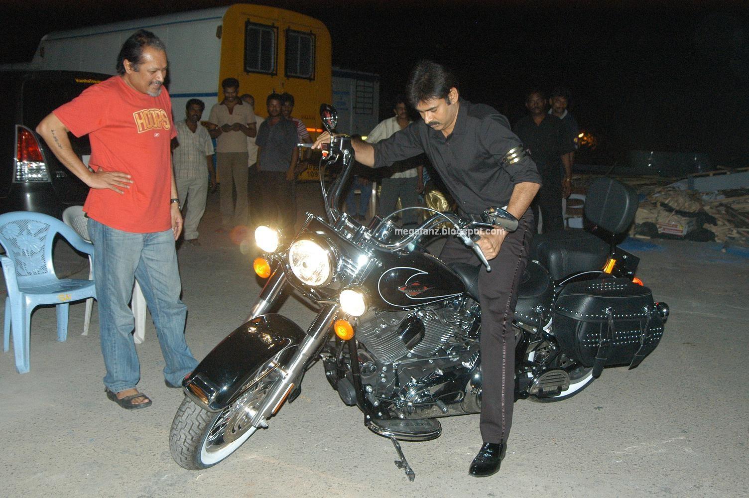 Pawan Kalyan Harley Davidson Bike