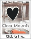 Clear Mount Rubber Stamps