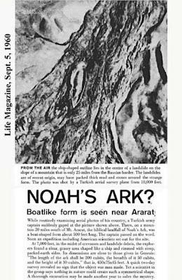 Foto Perahu Nabi Nuh di Gunung Ararat