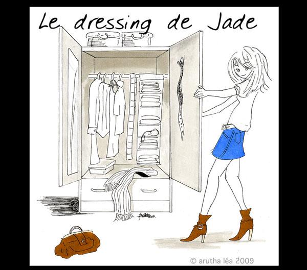 Le vide dressing de Jade-V