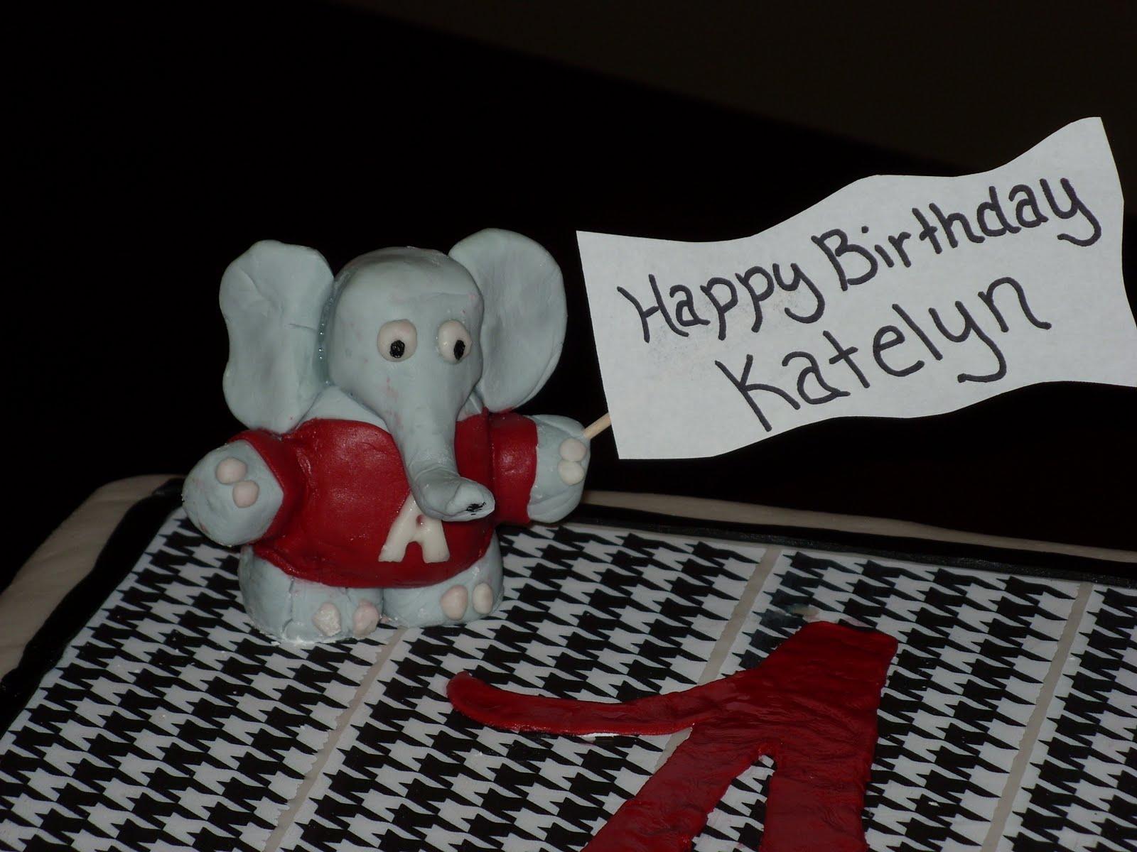 Cloud 9 Cakes And Cupcakes Alabama Birthday Cake