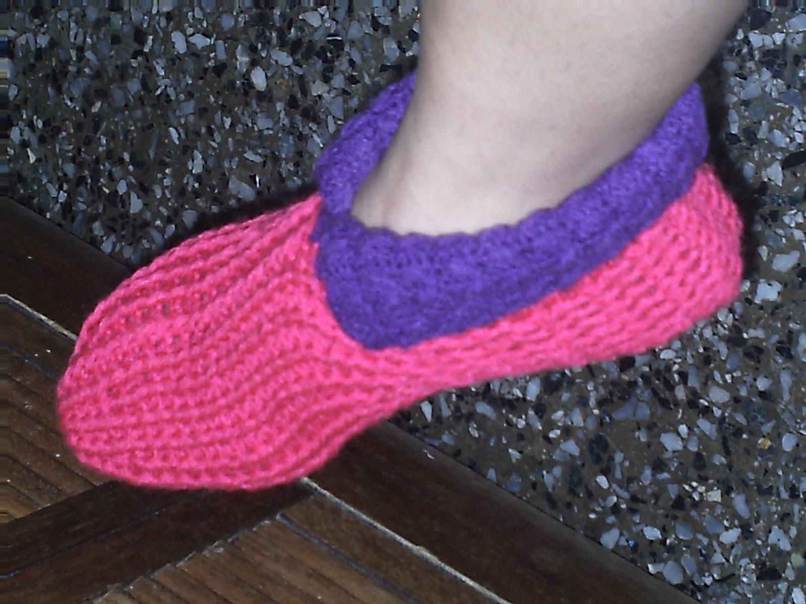 medias tejidas a crochet - botitas o medias de navidad tejidas a ...