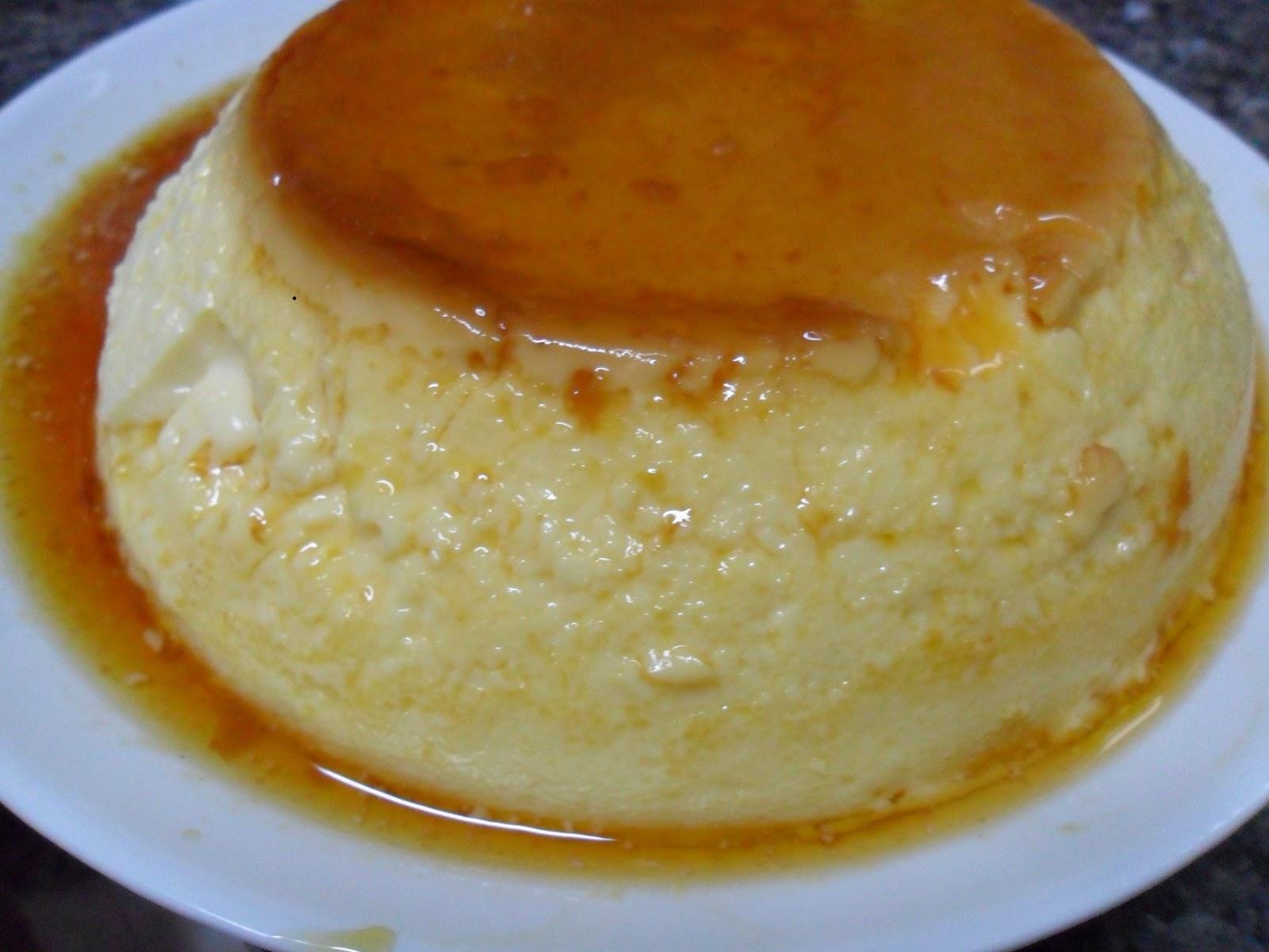 La cocina del goblin glot n flan de huevo horno y - Como se hace el flan de huevo al bano maria ...