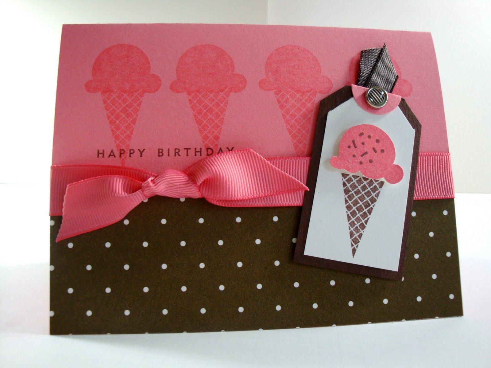 penguinstamper: Sweet Scoops Card Sample