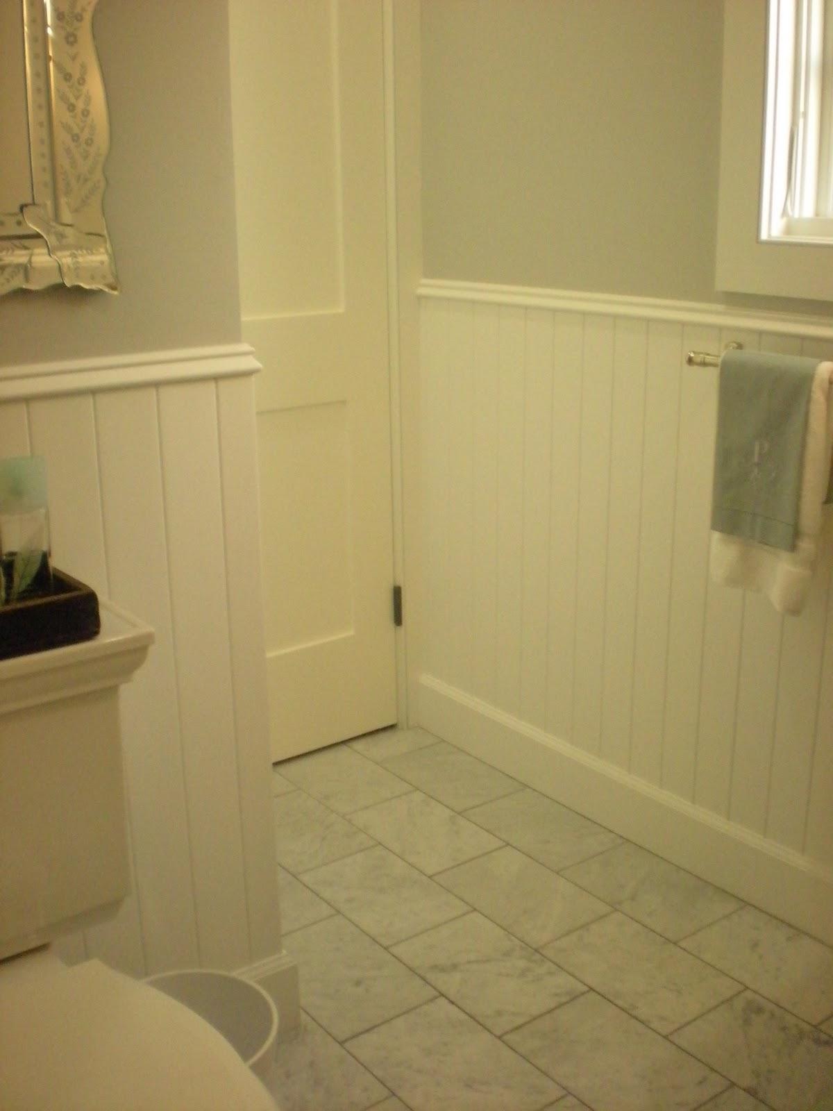 Classic casual home fresh new beach baths for Bathroom floor tile home depot